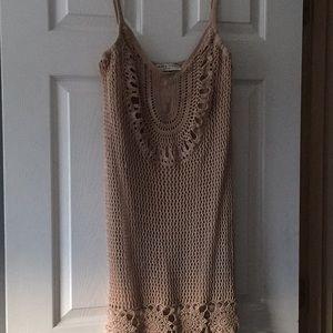 Crochet Dress by Trina Turk